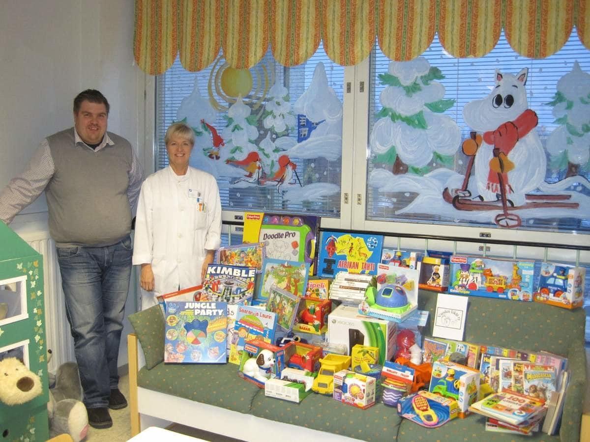 peleja-leluja-lahjoituksena